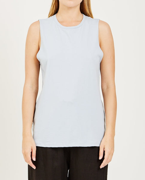 RICHER POORER Muscle Tank Blue Grey