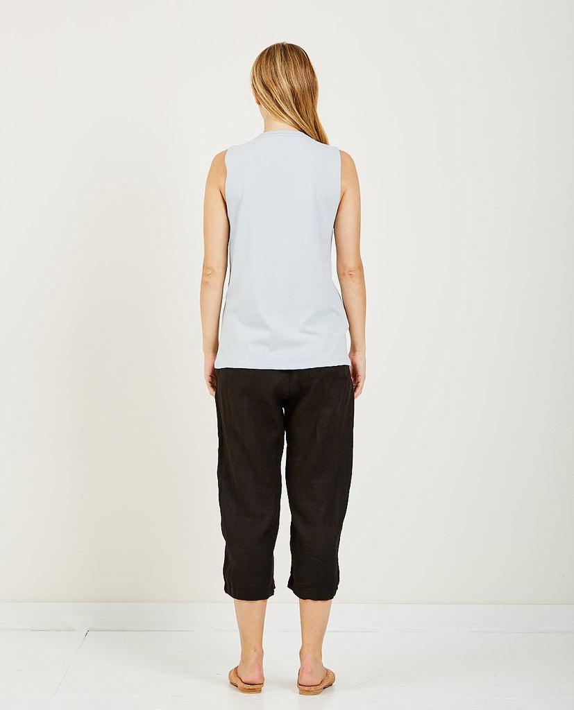Muscle Tank Blue Grey-RICHER POORER-American Rag Cie