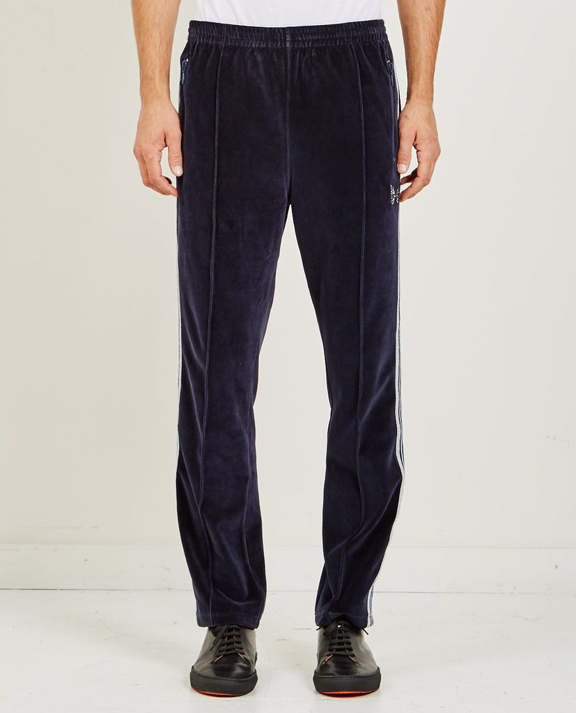 NEEDLES-NARROW TRACK PANT NAVY-Men Pants-{option1]