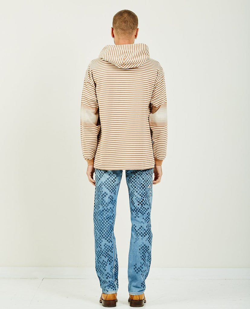 REMI RELIEF-Native Motif Striped Hoodie-Men Sweaters + Sweatshirts-{option1]