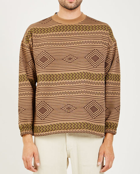 REMI RELIEF NATIVE PRINT SWEATSHIRT