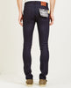 KATO-NEEDLE 4-WAY STRETCH JEAN INDIGO BLACK RAW-Men Straight-{option1]