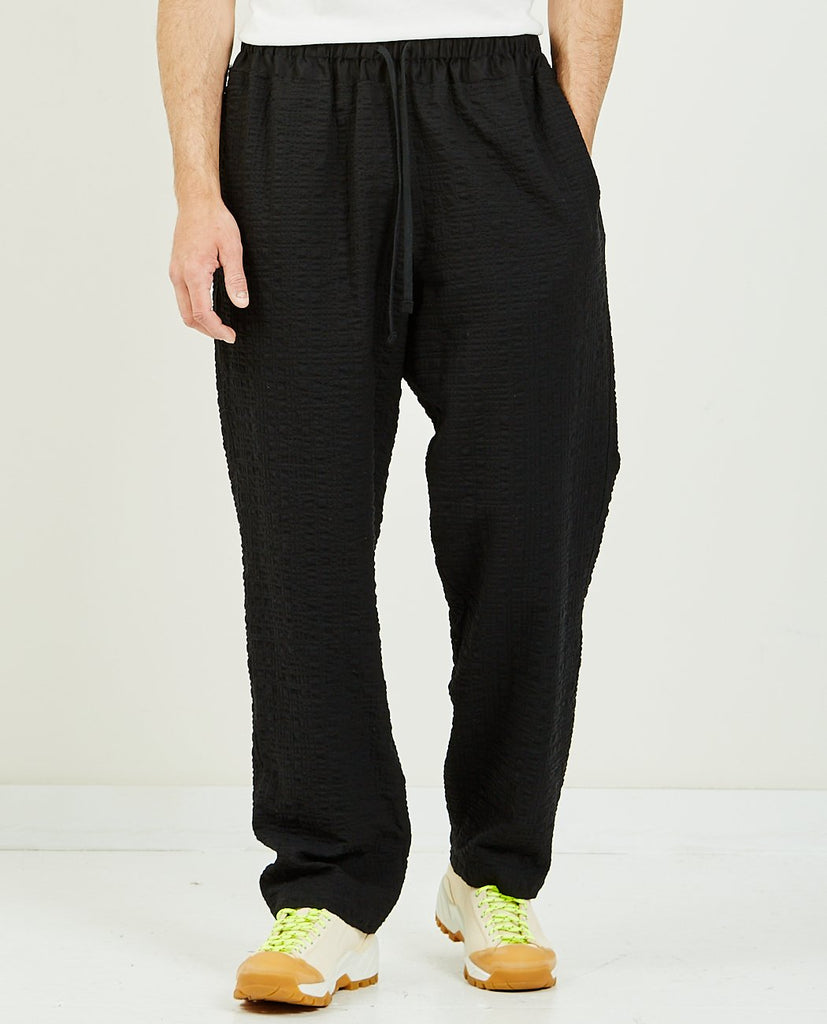 SK MANOR HILL-Nest Pant Black Puckered-Men Pants-{option1]