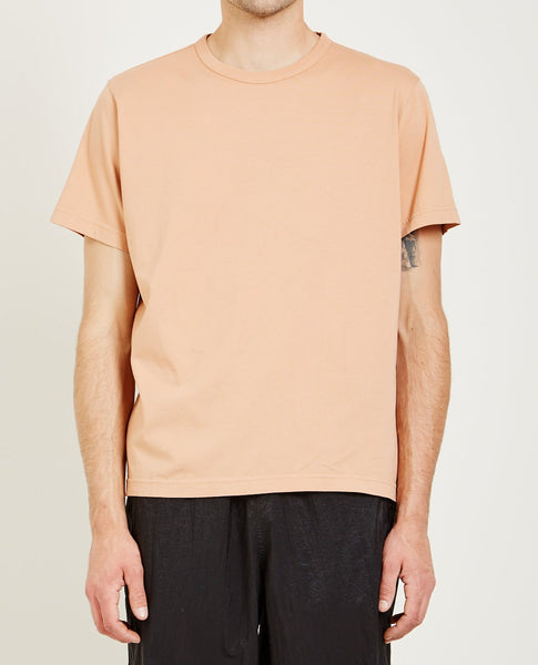 OUR LEGACY NEW BOX TEE PEACH PINK
