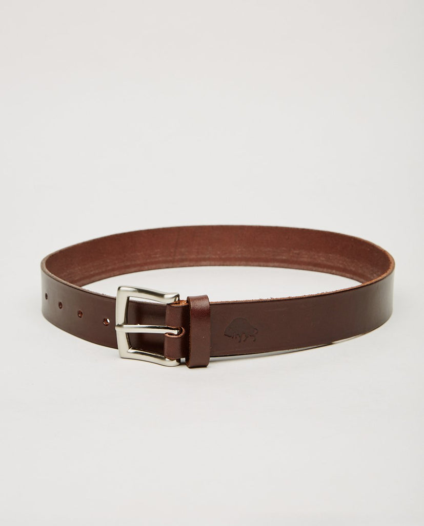 EZRA ARTHUR-NO. 1 BELT BROWN-Men Accessories-{option1]