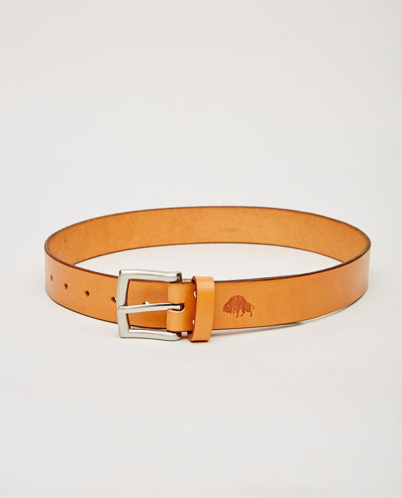 EZRA ARTHUR-NO. 1 BELT TAN-Men Accessories-{option1]