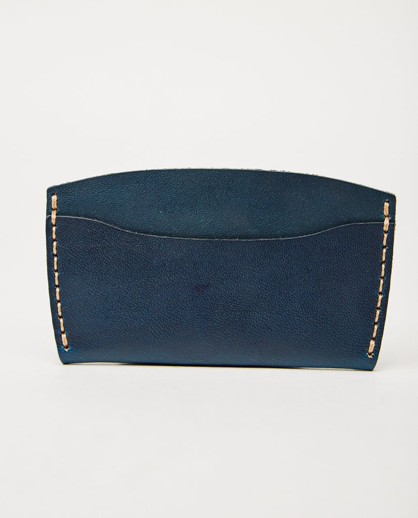 EZRA ARTHUR-No. 3 Wallet Navy-Men Wallets-{option1]