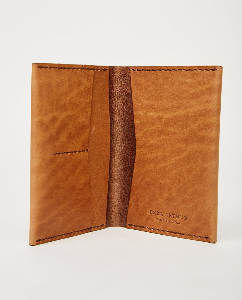 NO. 5 PASSPORT WALLET WHISKEY-EZRA ARTHUR-American Rag Cie