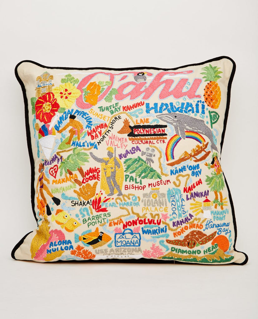 OAHU PILLOW-CATSTUDIO-American Rag Cie