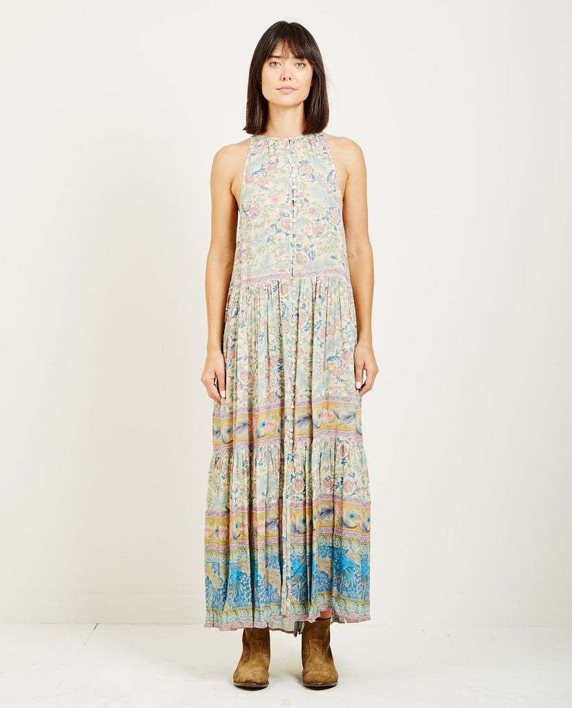 SPELL & THE GYPSY OASIS MAXI DRESS OPAL