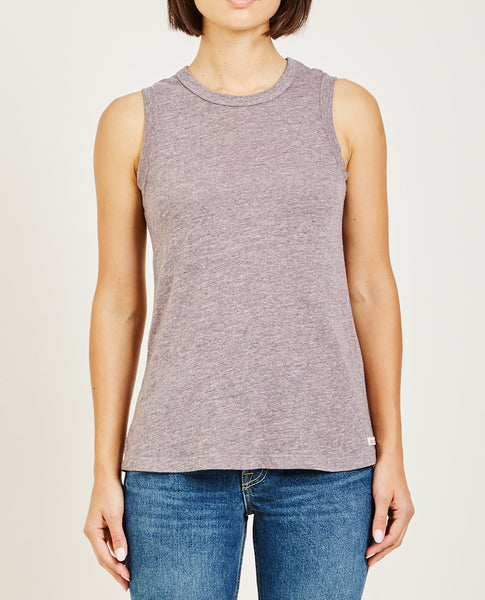 AR321 Oatmeal Muscle Tee Powder Pink