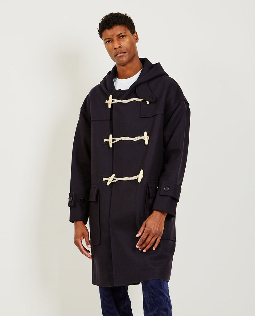 ALEX MILL Officer Duffle Coat