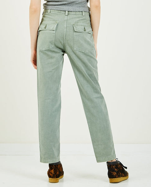 CQY Officer Pant Fatigue Green
