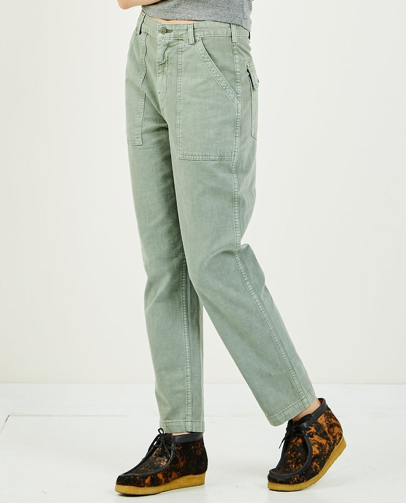 Officer Pant Fatigue Green-CQY-American Rag Cie