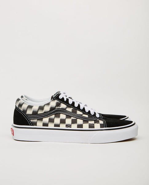 VANS OLD SKOOL BLUR CHECK