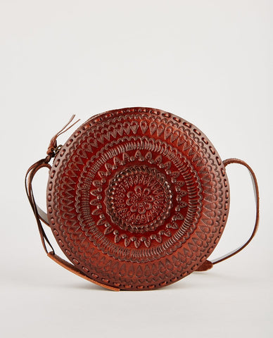 OTAAT MYERS COLLECTIVE LARGE RING POUCH RUSSET