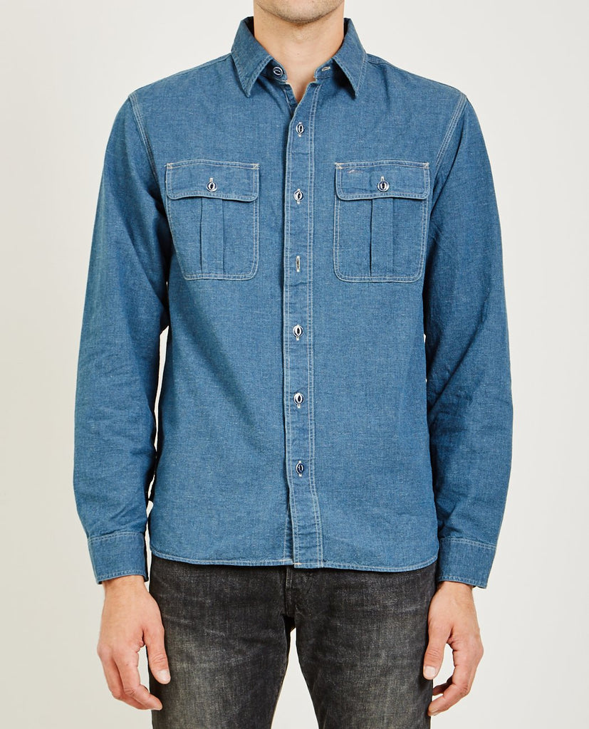 RRL-OLSON WS SPORT SHIRT-Men Shirts-{option1]