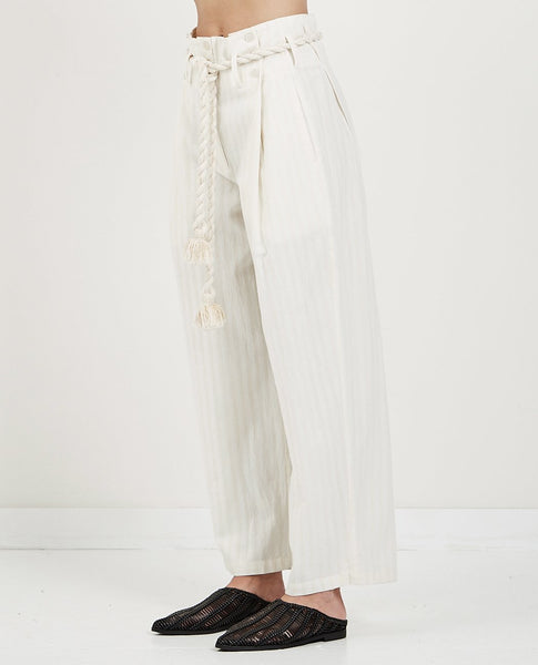 MES DEMOISELLES OLYMPIC ROPE TIE PANTS