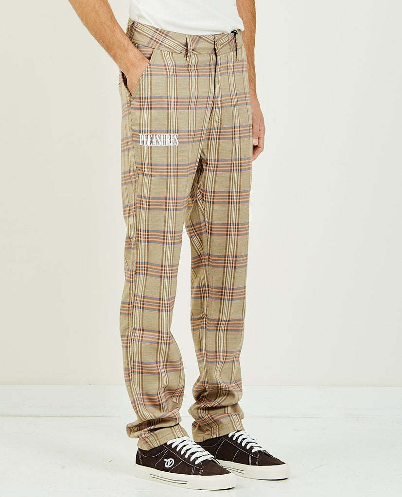 ORCHESTRA PLAID PANT-PLEASURES-American Rag Cie