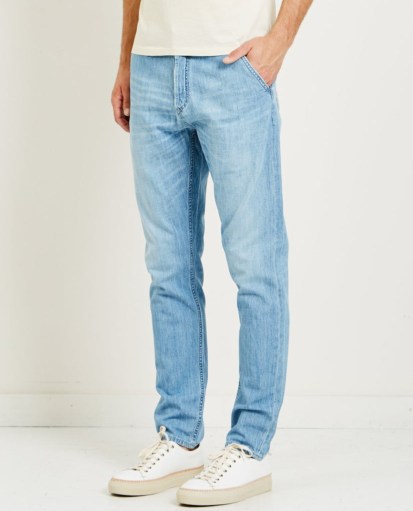 DENHAM-OSAKA PANT KD-Men Slim-{option1]