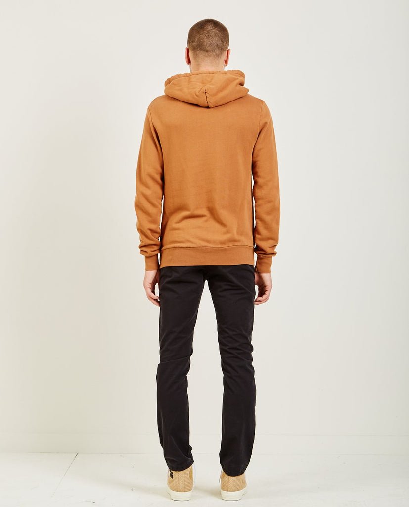 Over Dye Pullover Hoodie Rust Orange-AR321-American Rag Cie