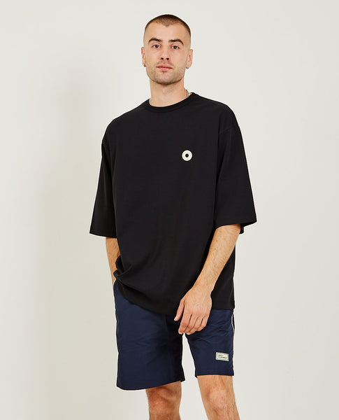 DROLE DE MONSIEUR Over-sized Patched Tee