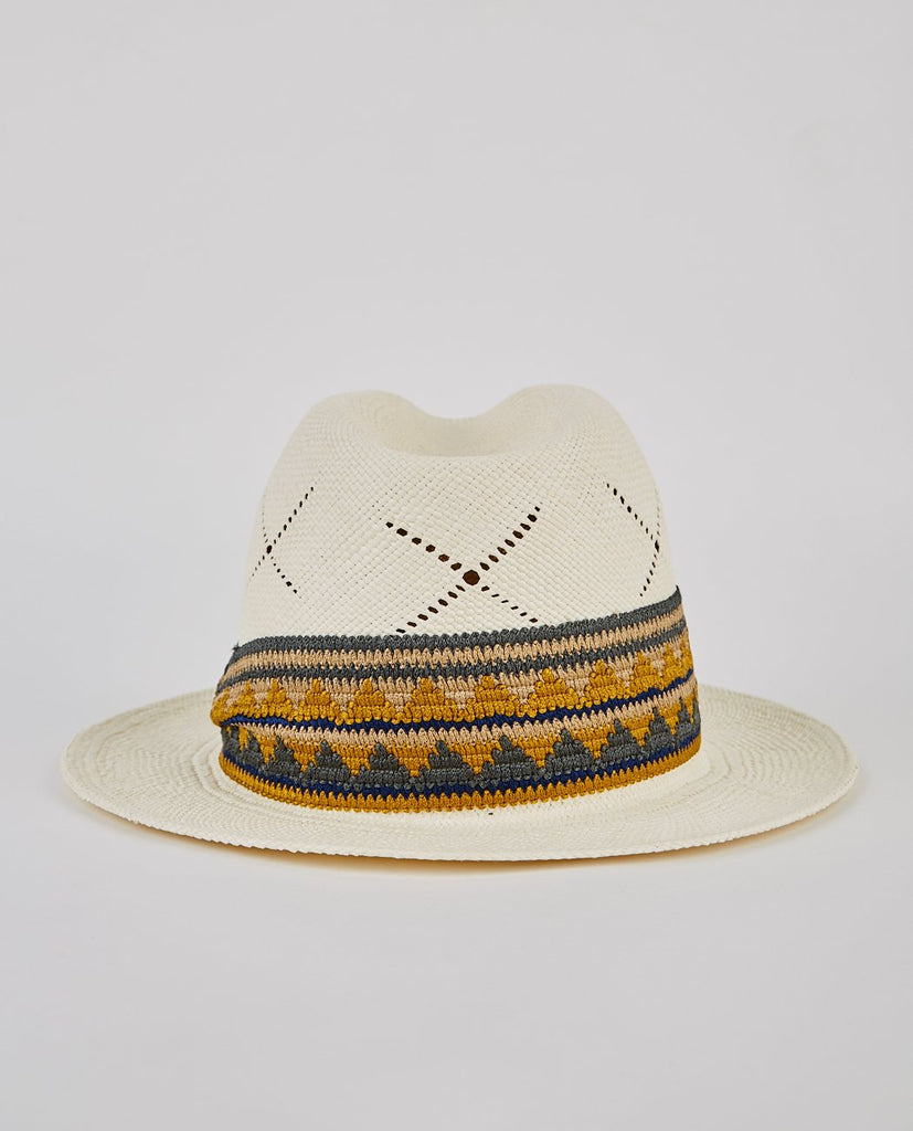 SUPER DUPER HATTERS CREW-OVERSIZED PANAMA-Men Hats-{option1]