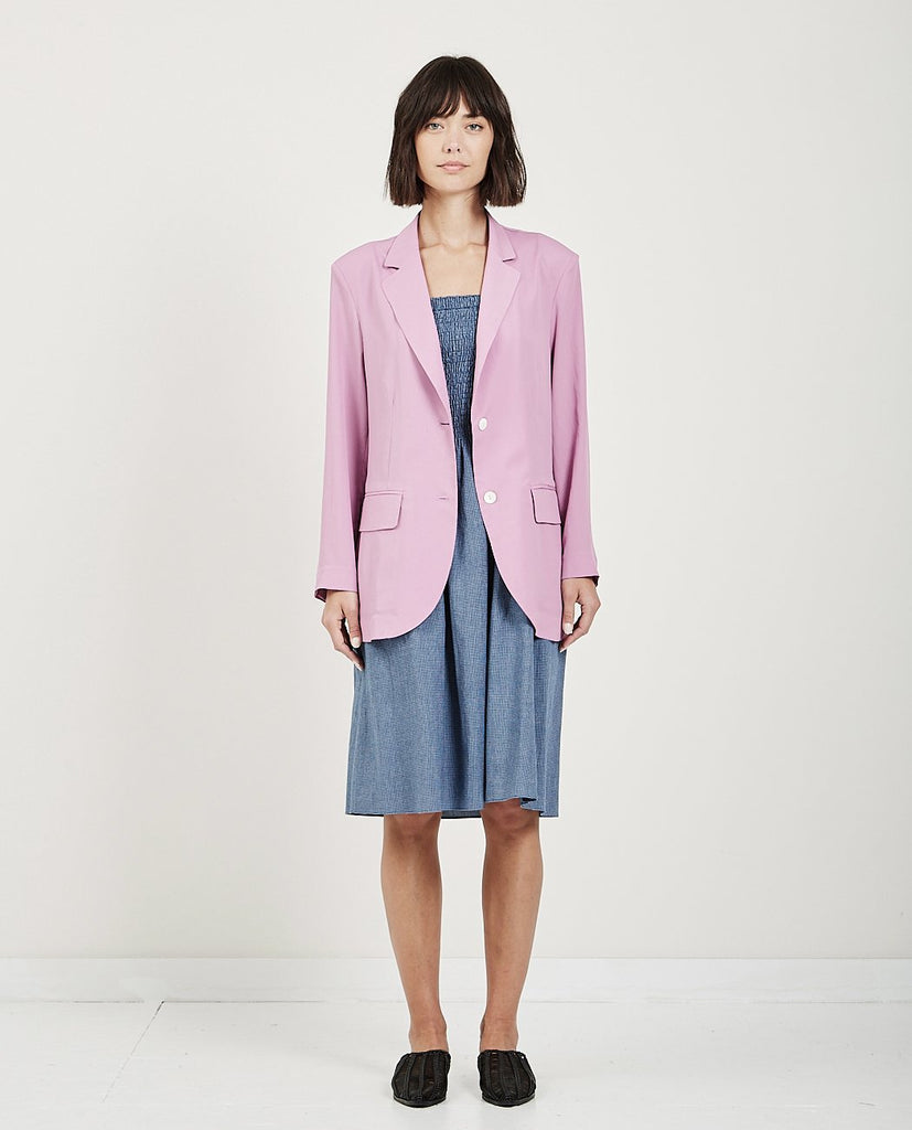MUSED-OVERSIZED TAILORED JACKET-Women Coats + Jackets-{option1]