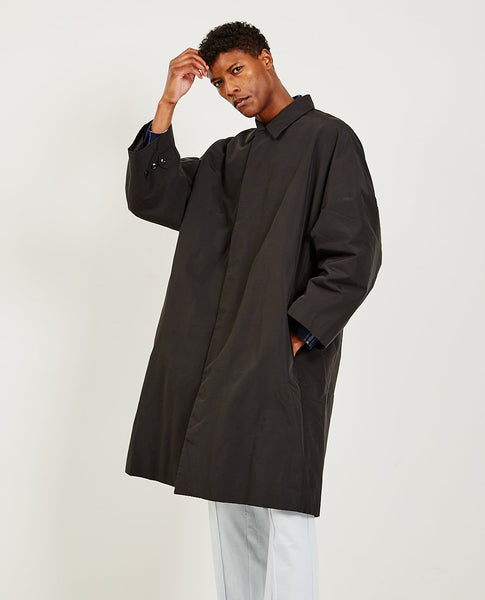 WILLY CHAVARRIA Padded Mac Trench Coat