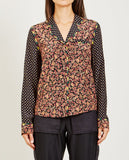 OPENING CEREMONY-PAISLEY PRINT BLOUSE-Blouses-{option1]