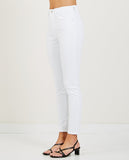 CQY-PALME JEAN WHITE-Women Skinny-{option1]