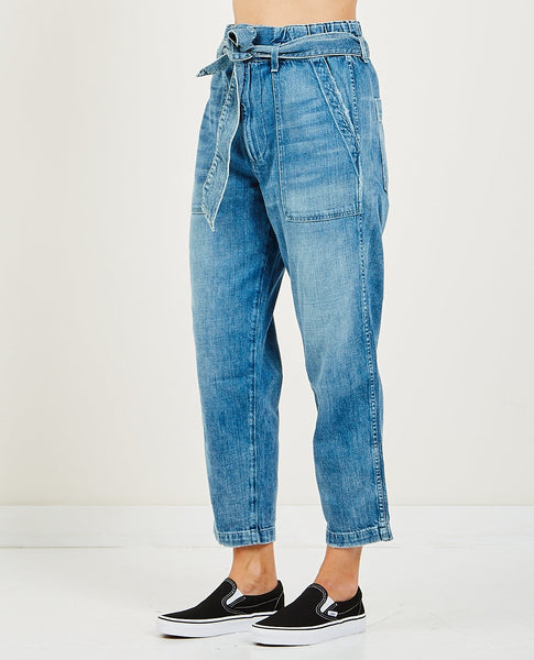 AMO PAPERBAG PANT RELAXED STRAIGHT