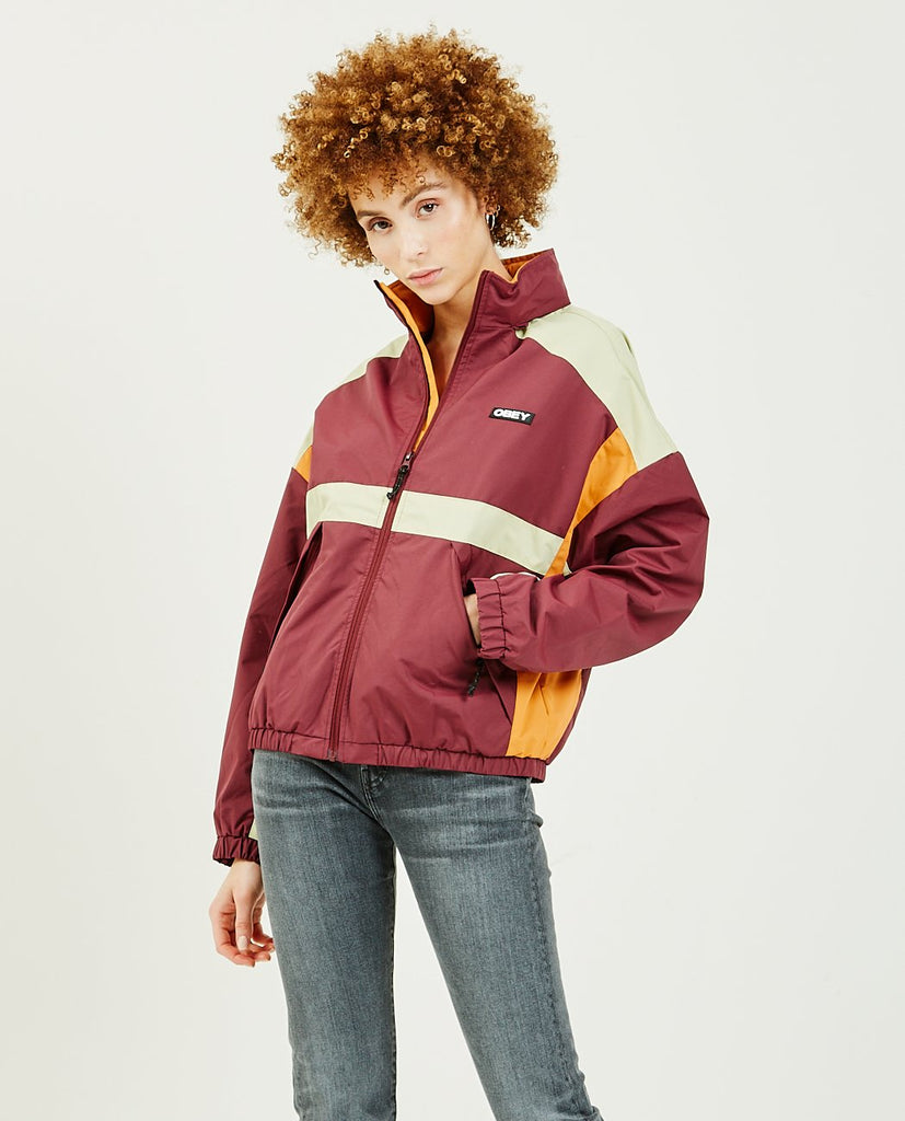 OBEY-Parquet Jacket-Women Coats + Jackets-{option1]