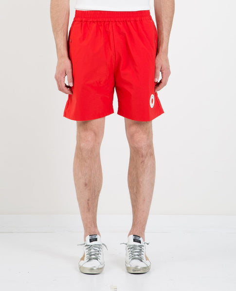DROLE DE MONSIEUR PATCH LOGO SHORT RED