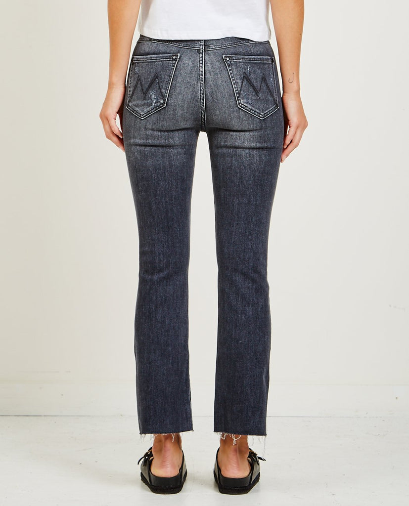 MOTHER-PATCH POCKET HUSTLER ANKLE FRAY LEAVE THE LIGHT ON-Women Bootcut-{option1]