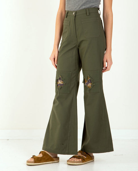W'MENSWEAR Peace-N-Patch Pants