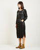 PEBBLE SATIN PUFF SLEEVE DRESS-RAQUEL ALLEGRA-American Rag Cie