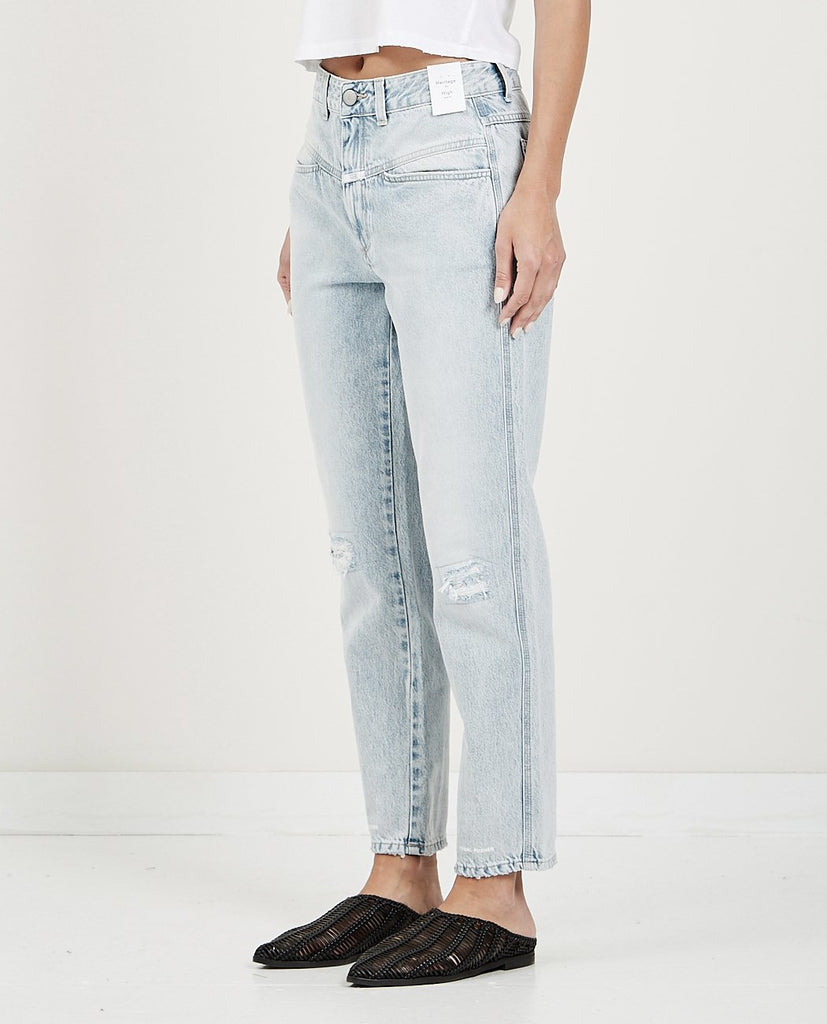 CLOSED-PEDAL PUSHER JEANS LIGHT BLUE-Women Boyfriend-{option1]