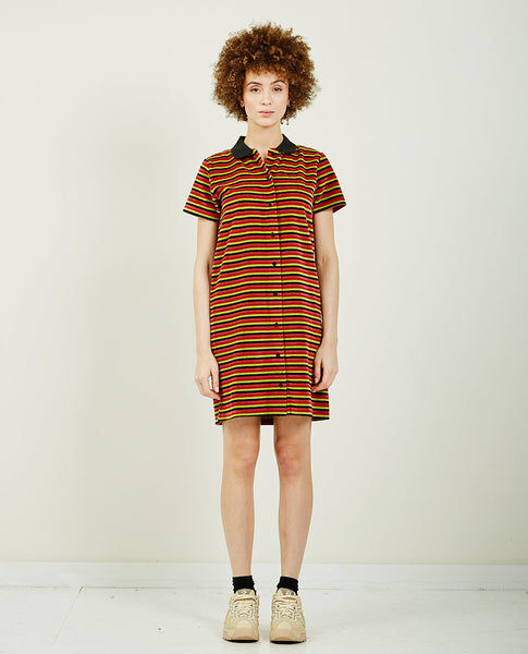 STUSSY PENNY VELOUR DRESS
