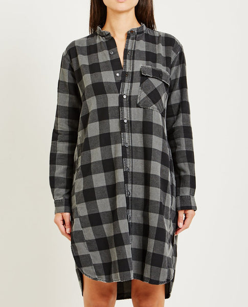 NSF PEPPER CHECKED DRESS