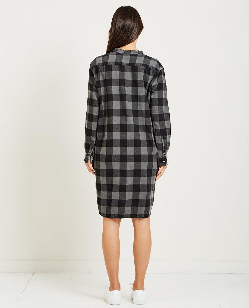 PEPPER CHECKED DRESS-NSF-American Rag Cie