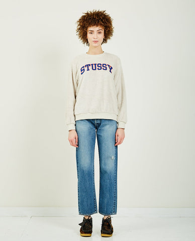 THE GREAT COLLEGE SWEATSHIRT MULTI COLOR PIPING