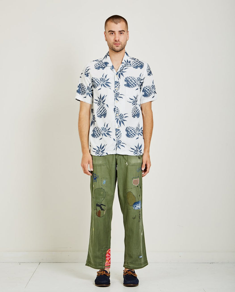 REMI RELIEF PINEAPPLE ALOHA SHIRT