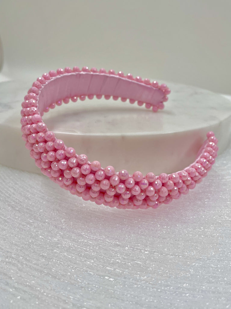 HANDS BAG-Pink Headband-Women Accessories-{option1]
