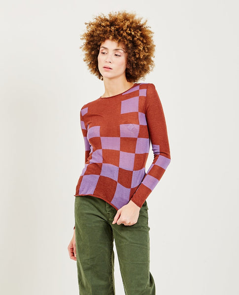 PALOMA WOOL Pixel Turtleneck