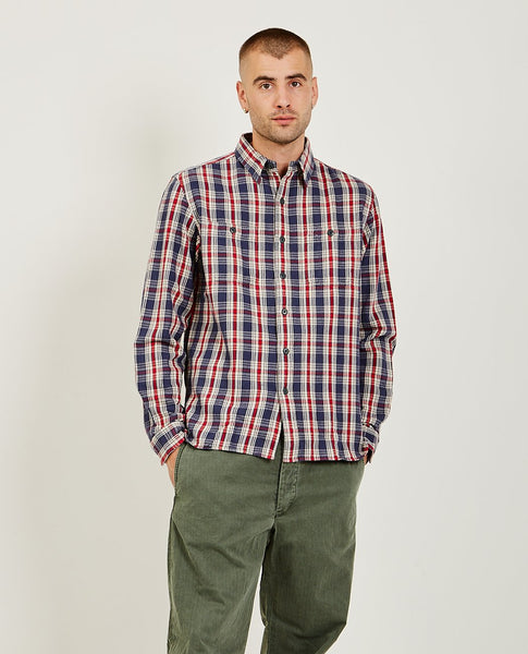 RRL Plaid Twill Workshirt