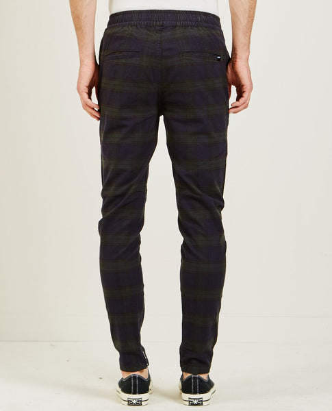 ZANEROBE PLAID UNBLOCKSHOT CHINO INK & FOREST