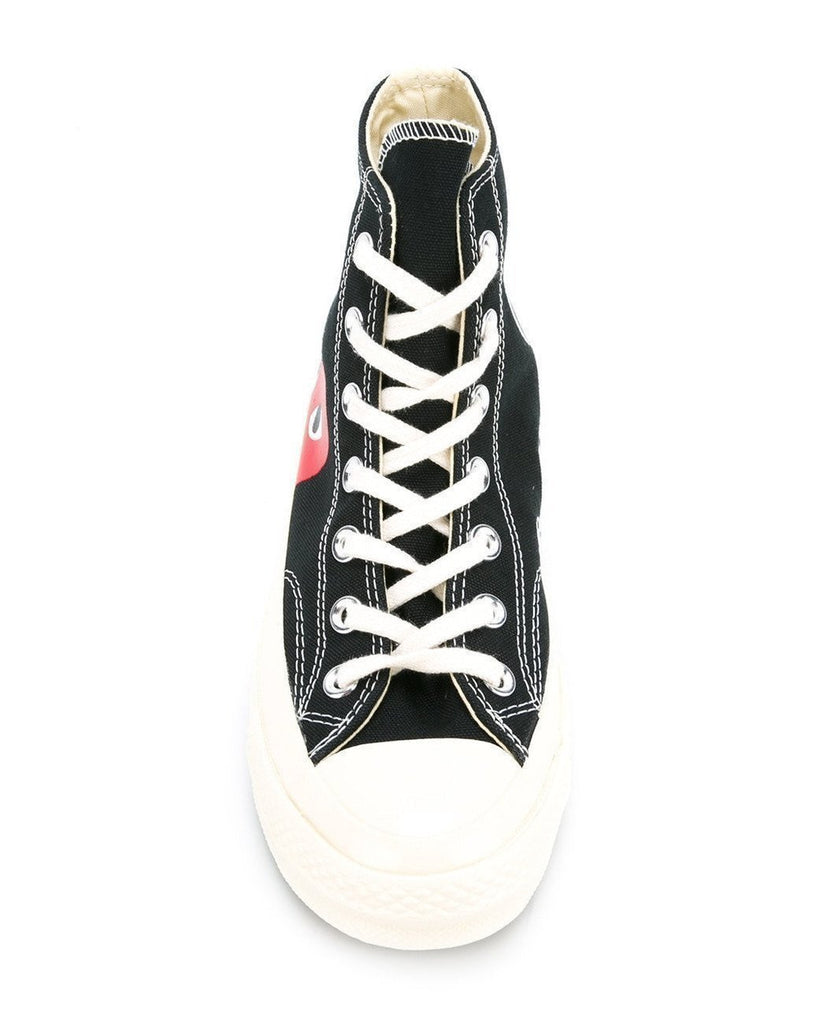 PLAY CONVERSE CHUCK TAYLOR ALL STAR '70 HIGH BLACK-COMME DES GARÇONS PLAY-American Rag Cie