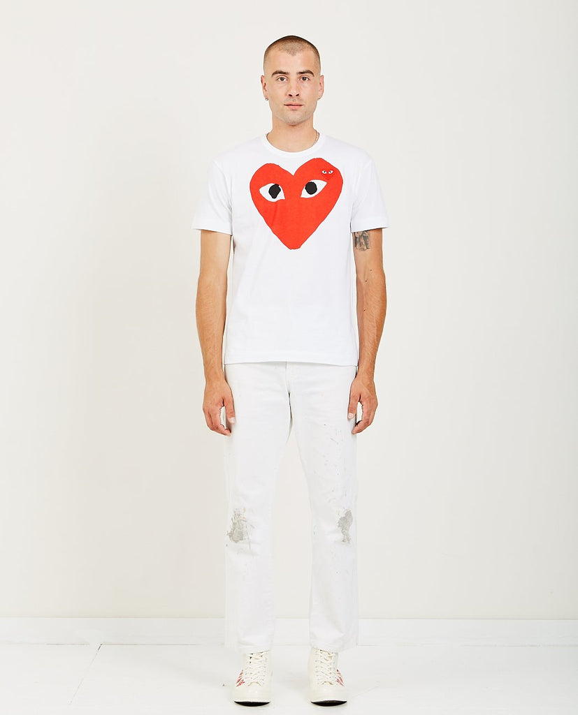 PLAY LARGE RED HEART TEE-COMME DES GARÇONS PLAY-American Rag Cie