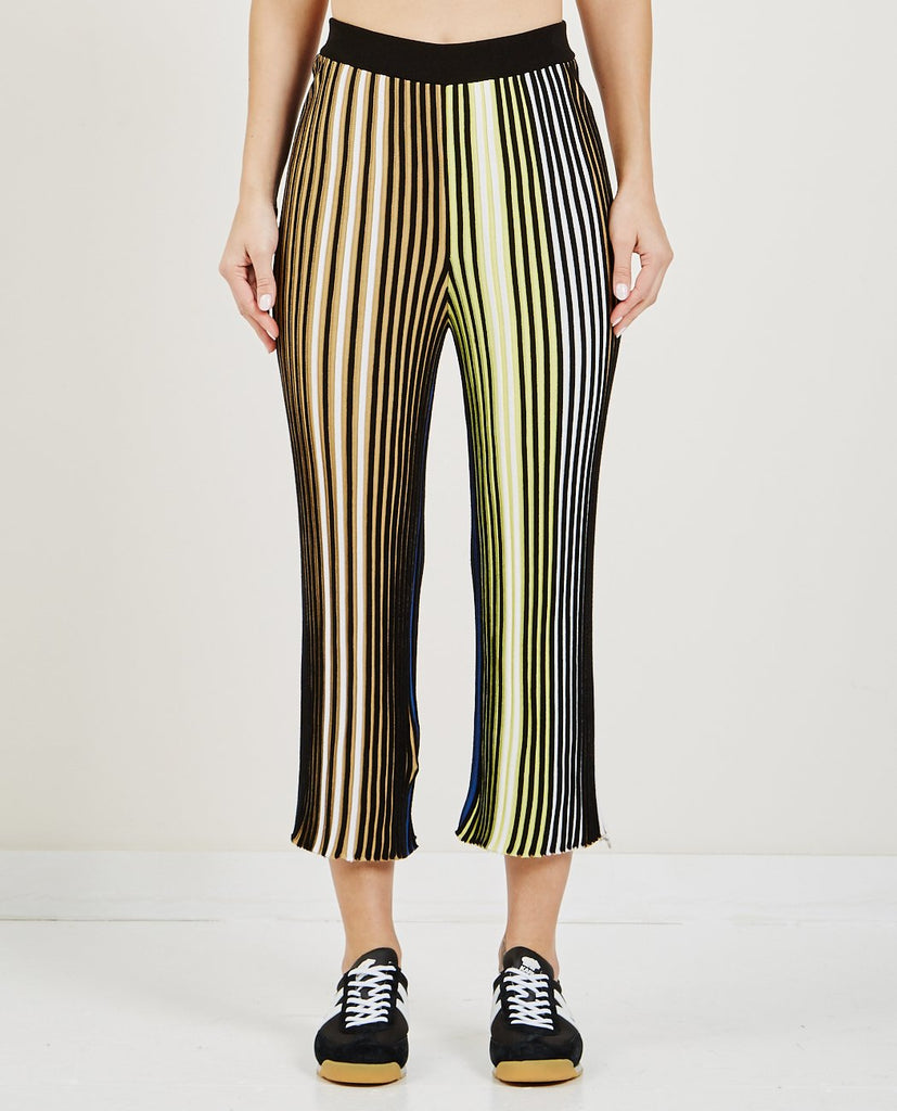 ab325b897 KENZO PLEATED COLORBLOCK KNIT TROUSERS | AMERICAN RAG CIE